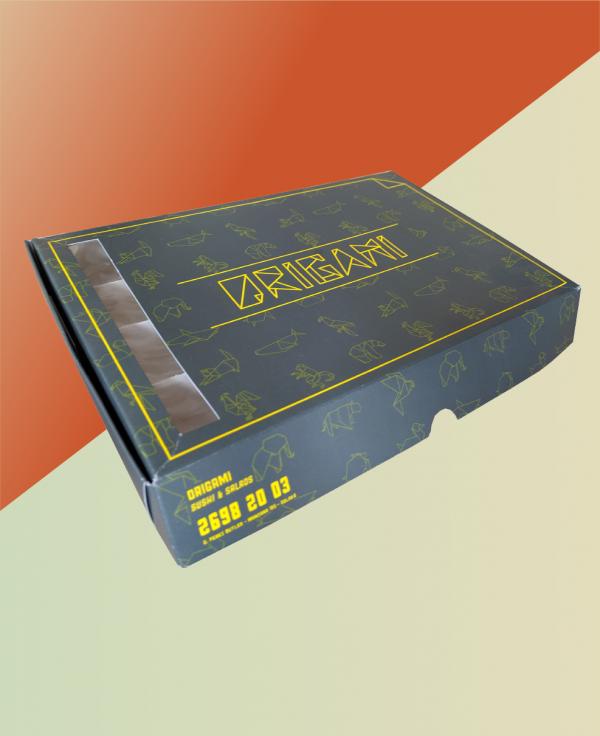 Caja para sushi 30x19x4