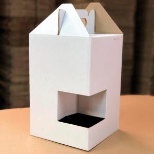 Caja para botellas x4